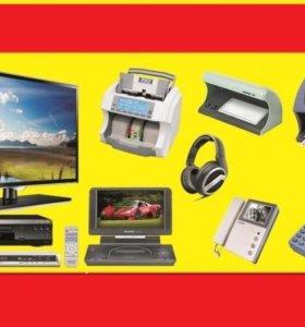 Ремонт телевизоров,бытовой техники