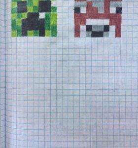 Пиксельные арты на заказ