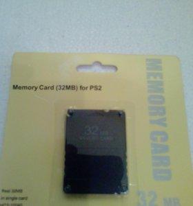 Память для ps2 32 mb