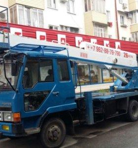 Автовышка АГП Мехрука 15, 27, 32, 45 м