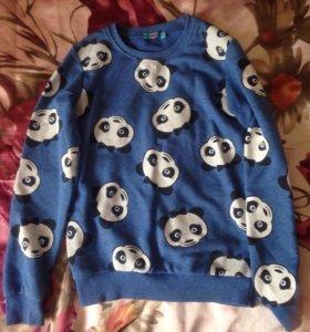 Свитшот с пандами