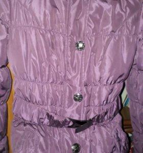 Куртка на зиму . ( на рост 152 см , на девочку )