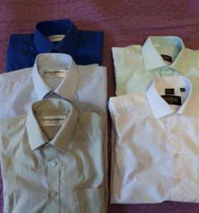 Школьная форма рубашки на рост 143-140 ворот31