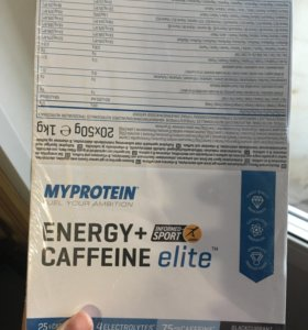 My protein energy gel