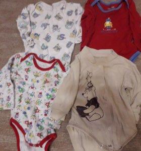Пакет вещей для мальчика рост 62-68, плюс подарок