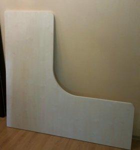 Новая столешница для углового стола.