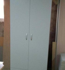 Шкаф светло серый, Новый