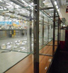 Шкафы стеклянные со светодиодной подсветкой