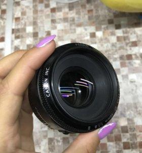 Canon EF 50mm f. 1.8 II