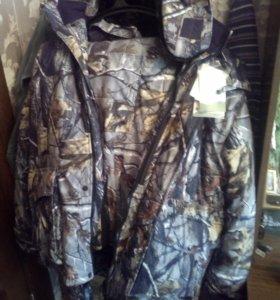 Утепленный костюм для рыбалки и охоты и унты
