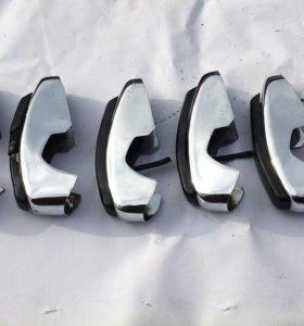 Хромированные клыки на бампер Ваз 2101, 2103, 2102