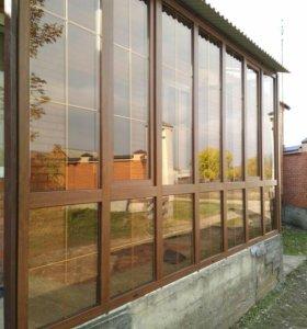Окна и Двери пластиковые витражи