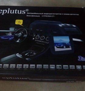 Видеорегистратор с антирадаром и GPS Eplutus GR-88