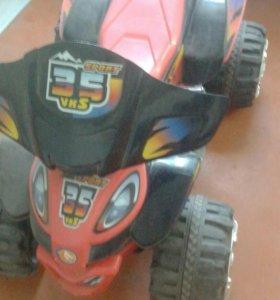 Детский квадроцикл аккамуляторный