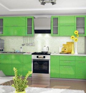 Кухня София 3,1м металлик