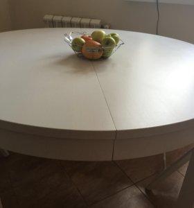 Раскладной круглый стол IKEA