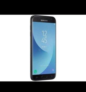 Телефон Samsung j5 2017 года черный