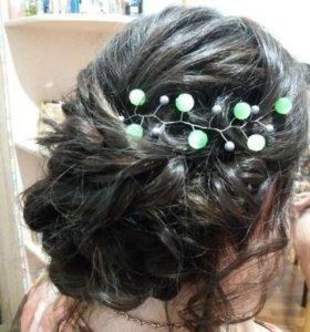 Причёски+украшения