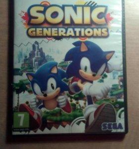 Компьютерная игра SONIC GENERATIONS