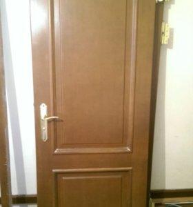 Двери межкомнатные коричневые 90х205