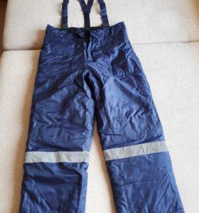 Новые утепленные мужские брюки