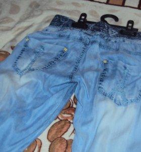 Женские легкие брюки