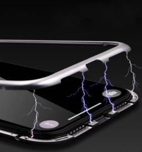 Новинка - магнитный чехол на iPhone X