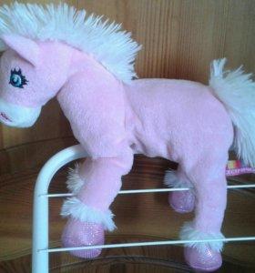 Мягкая игрушка лошадка Софи