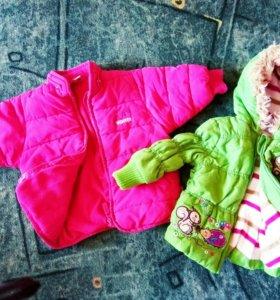 Курточки осень-зима