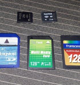 Карта памяти Sony Memory Stick Micro M2 - ММС - SD
