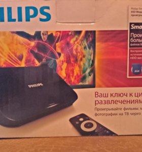 HD медиа проигрыватель Philips smartbox