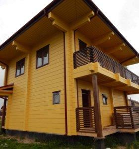 Покраска дома,дачи,шлифовка,реставрация.