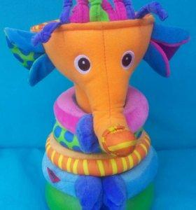 Музыкальная пирамидка ,,Слонёнок,,30 см