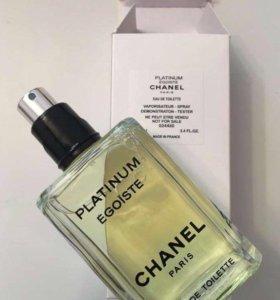 Тестер Chanel egoist platinum