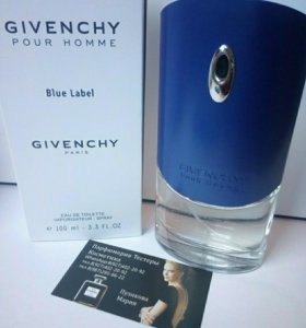 Тестер,духи Givenchy Blue Label