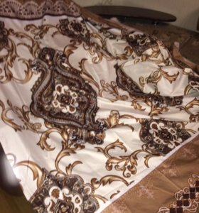 Простынь на 2 х спальню кровать