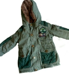 Куртка осенняя на мальчика 9-12 месяцев Takko
