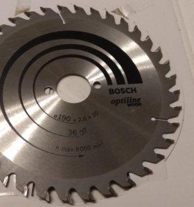 Диск пильный Bosch 190x2,6x30