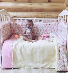 Матрас и кроватка