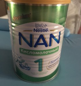 НАН Nestle кисломолочный 1