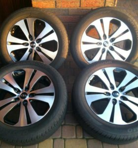 Kia Sportage 2014 R18 комплект колес