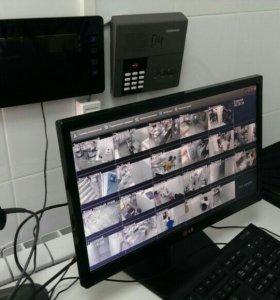 Системы видеонаблюдения - монтаж, ремонт