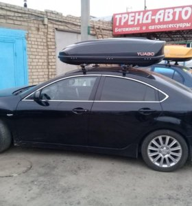 Автобокс Avatar black, 460 литров