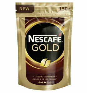 Кофе Нескафе Голд 150 гр.