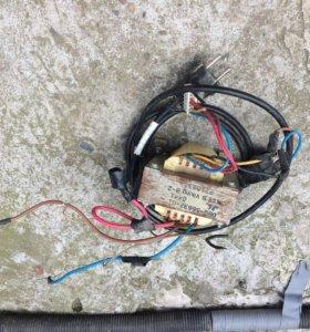 Трансформатор с сетью
