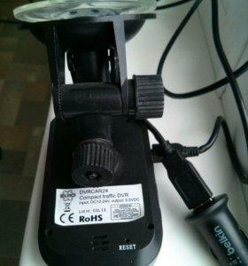 Видеорегистратор DVRCAR24, куплен в Европе.