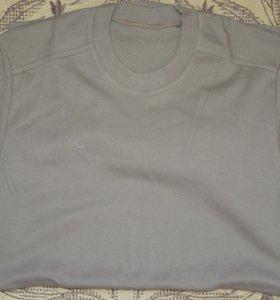 футболка х\б, военная, оливкового цвета