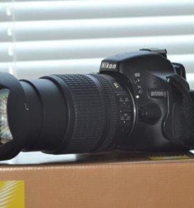 Nikon d5100+ nikon 18-105
