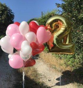 Воздушные шары в Анапе
