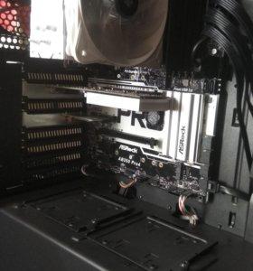 Компьютер в сборке под тяжёлые программы и игры.
